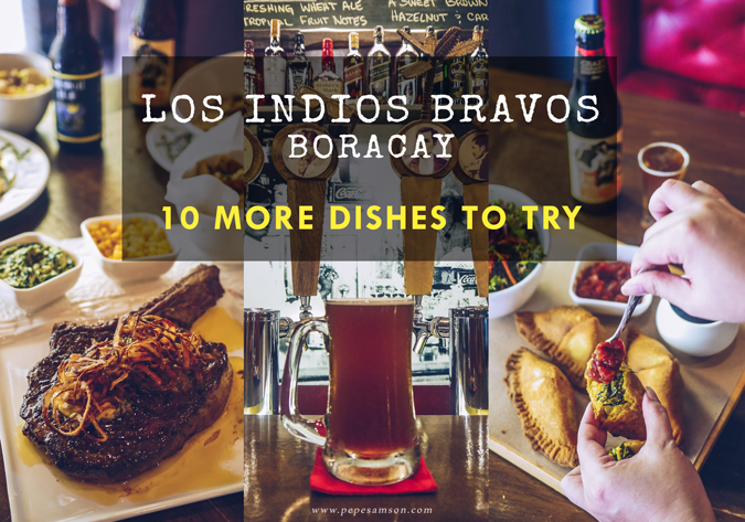 Back for Seconds: 10 More Dishes to Try at Los Indios Bravos Boracay