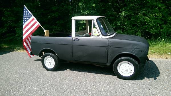 Craigslist Wausau Cars >> Daily Turismo Barely There 1967 Cony 360 Truck