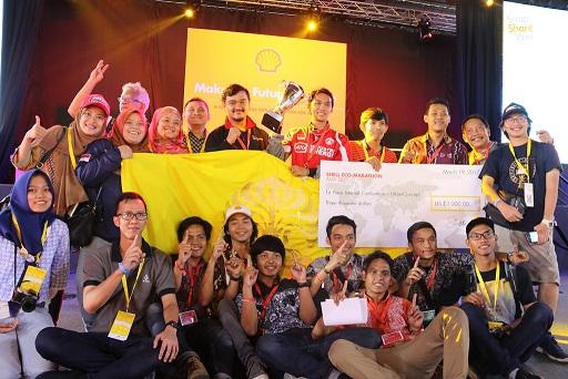 Mobil Hemat Energi Tim Sadewa UI Raih Juara 1 Asia
