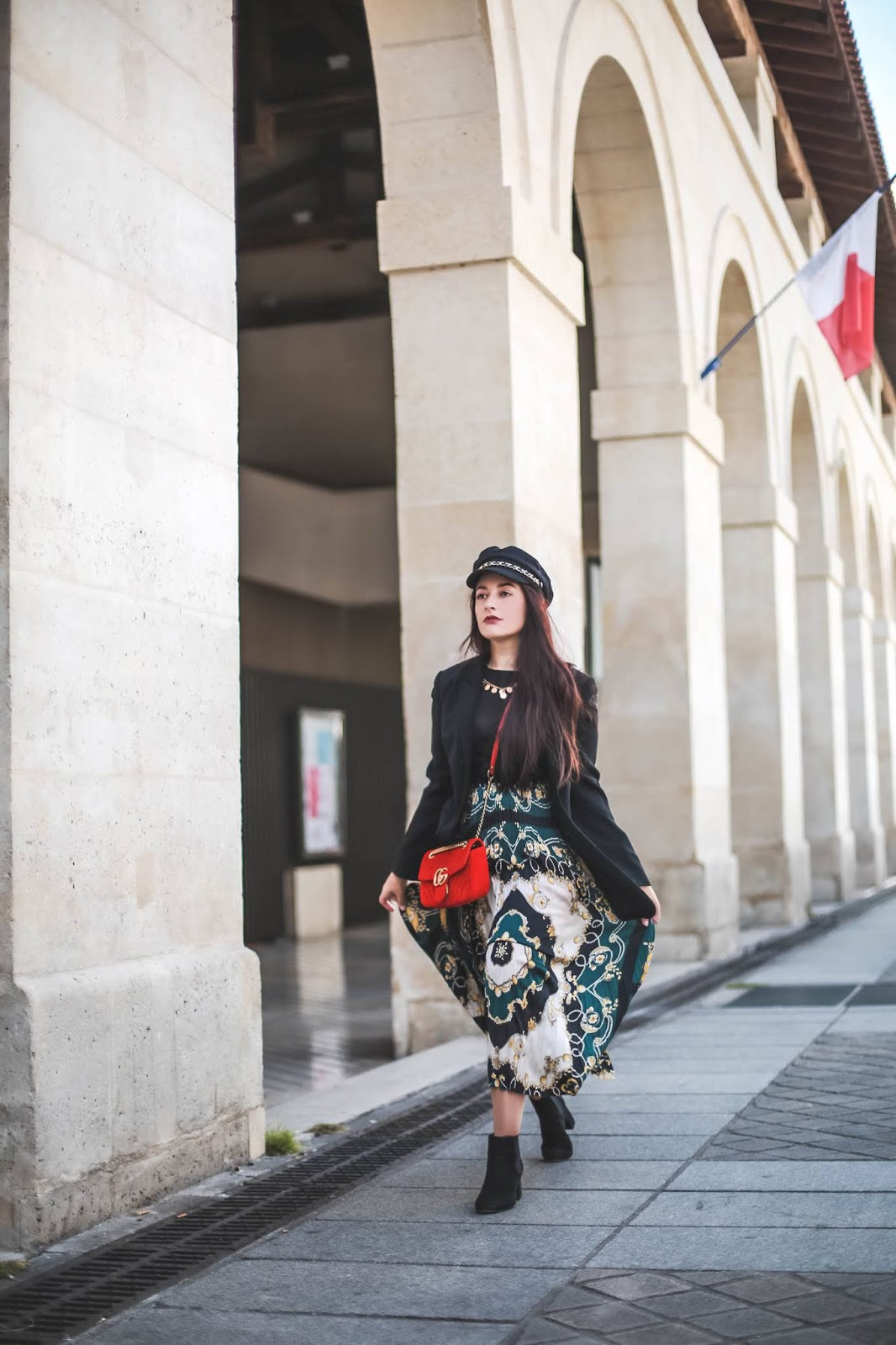 imprimé foulard tendance mode