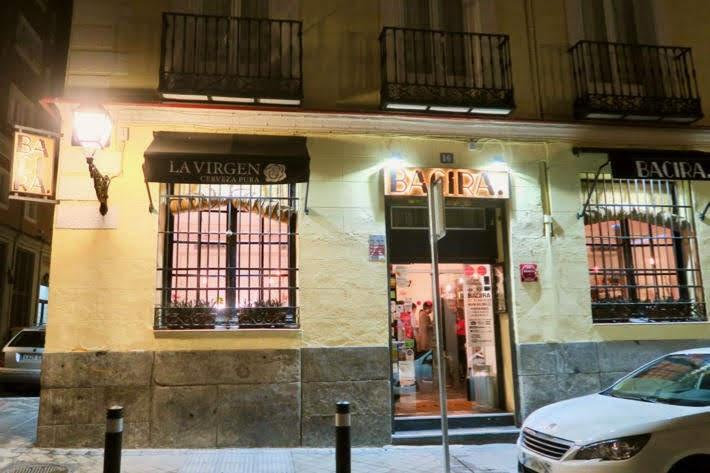 Bacira マドリードのチャンベリ地区にある日経レストラン・バシラ店構え