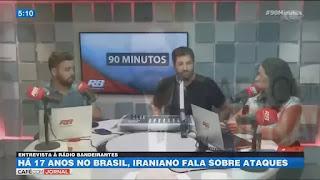 Há 17 anos no Brasil, iraniano fala sobre ataques