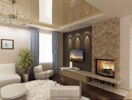 Mi casa con estilo salas de estar con chimeneas - Chimeneas con estilo ...