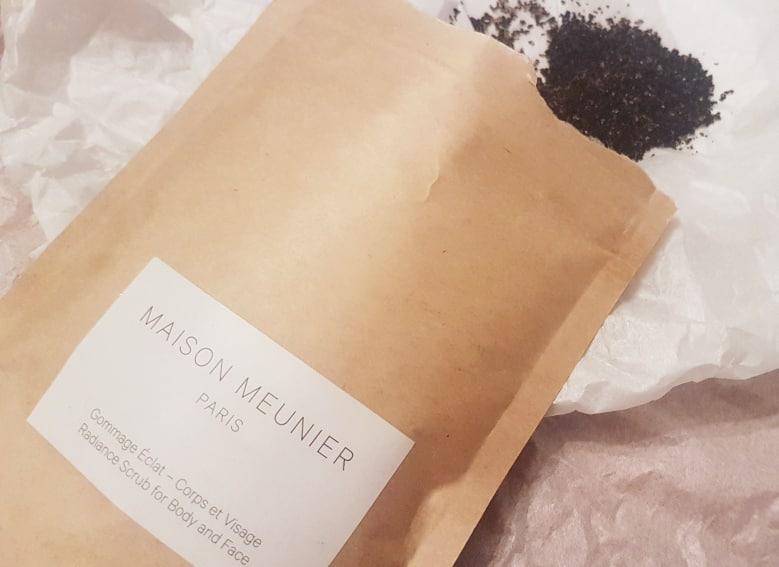 Maison Meunier Radiance Coffee Scrub texture