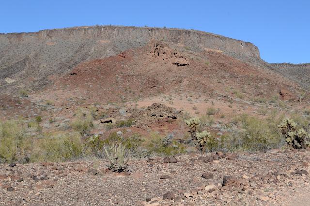 cliff edged mesa