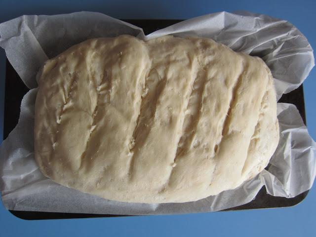 Bread making in the oven