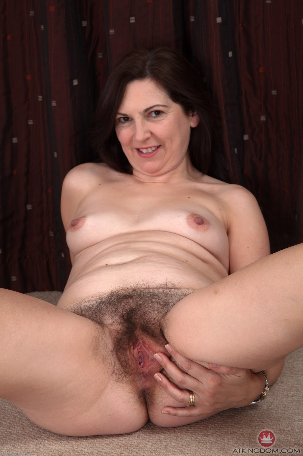 Mature hairy females masturbating