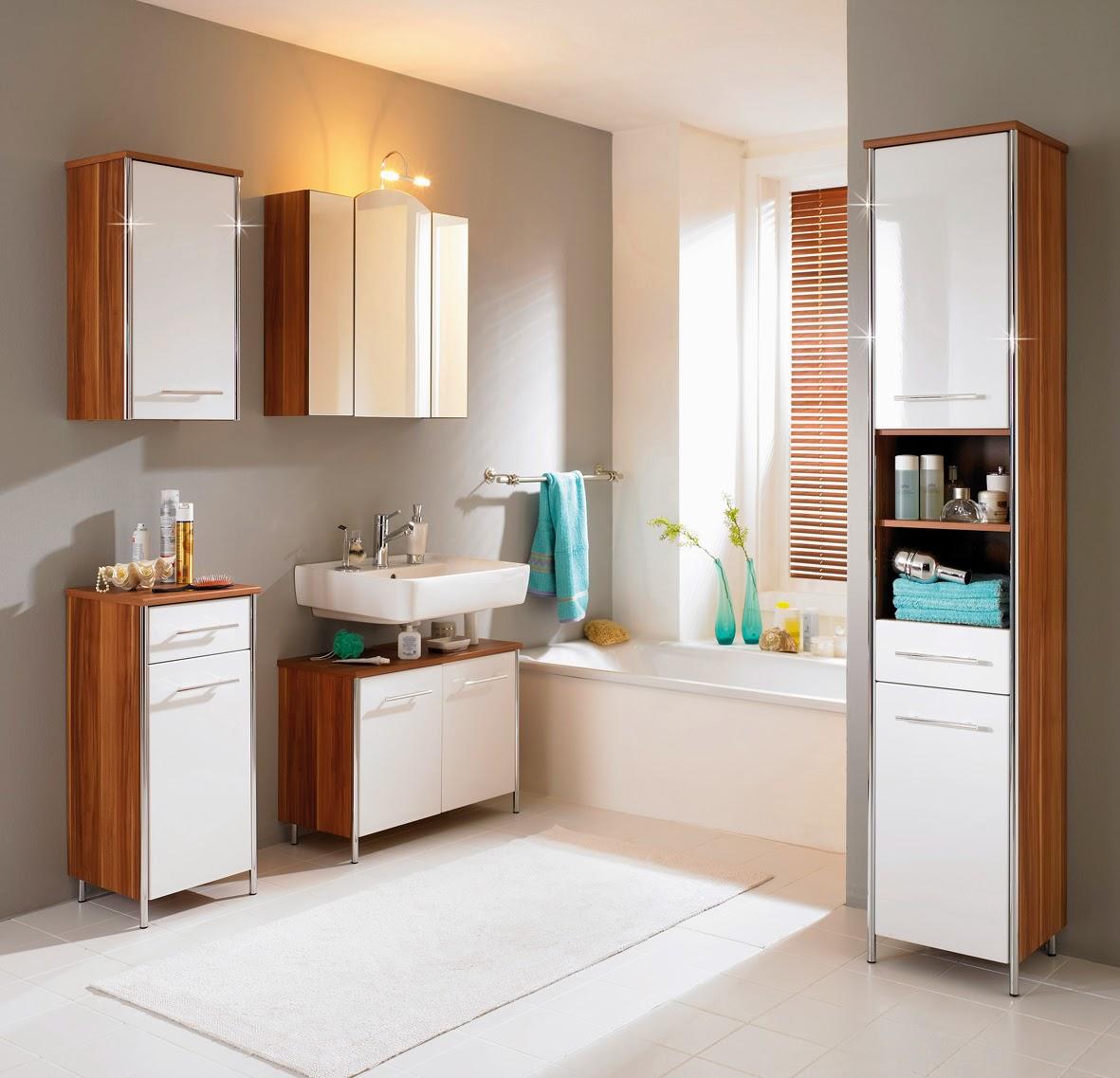 Ideias de armário para banheiros