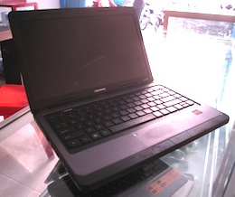 jual laptop 2nd compaq cq435