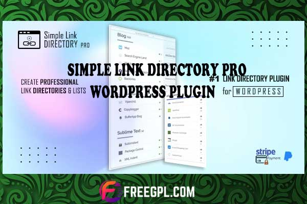 Simple Link Directory Pro WordPress Plugin Nulled Download Free