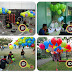 Balon Gas Pelepasan dengan menggunakan gas helium gas hidrogen