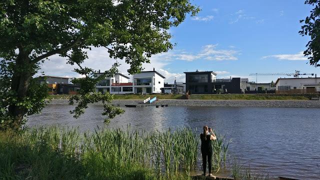 Porin asuntomessut 2018, asuntomessut, kokemäenjoki, asuntomessuilla porissa, kuvia asuntomessuilta, Pori
