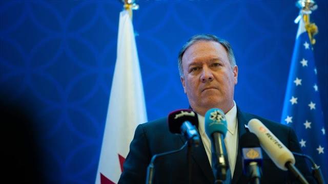 """Pompeo: EEUU no se retirará """"absolutamente"""" de Oriente Medio"""