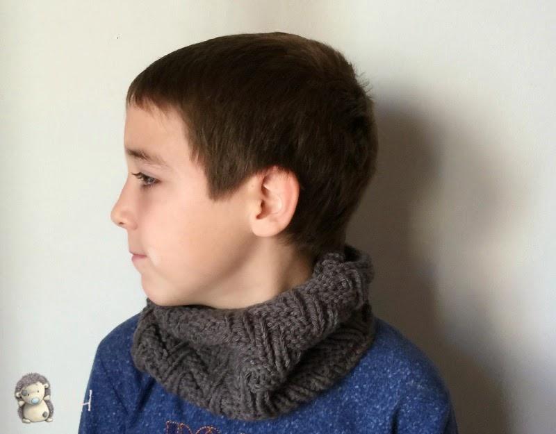 Cuello elástico unisex