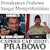 Prabowo Capres Idiot