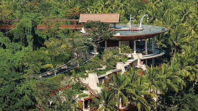 Four Seasons Resort Sayan, Bali, Indonesia.