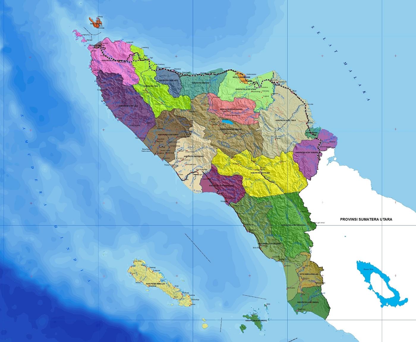 Peta Aceh HD