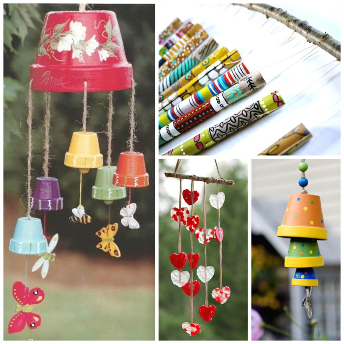 20 Wind Chime Crafts Kids Can Make These Are BEAUTIFUL I Want To