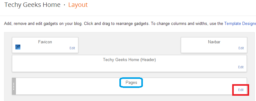 How to add a custom static page to your blog and not adding it to your menu tabs - Google Blogger 6