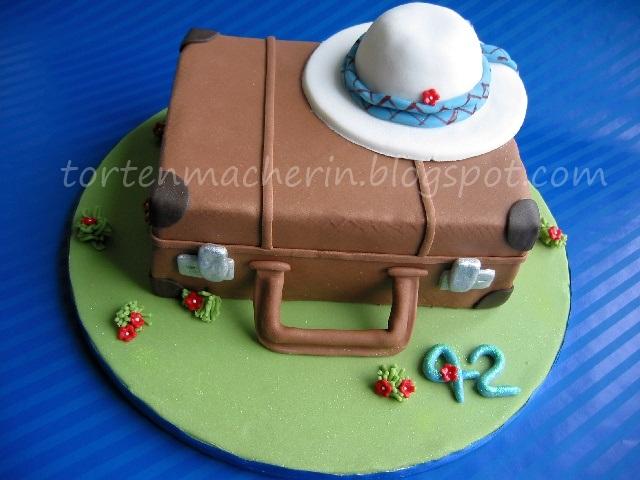 Die Tortenmacherin Ein Gefullter Koffer Geht Auf Reisen