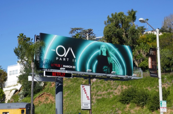 The OA part 2 billboard Sunset Strip