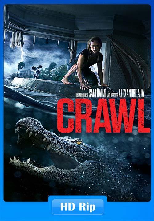 Crawl 2019 720p WEBRip x264 | 480p 300MB | 100MB HEVC Poster