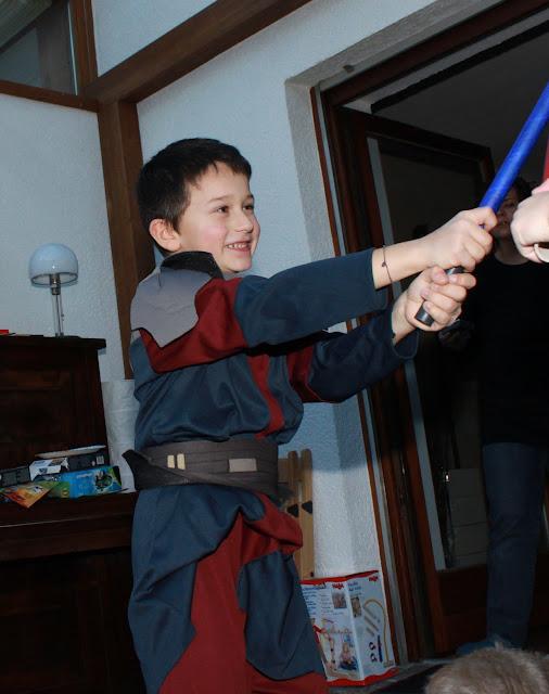 7. Geburtstag - Star Wars Party