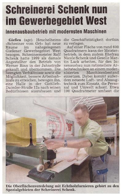Schreinerei Schenk Gießen