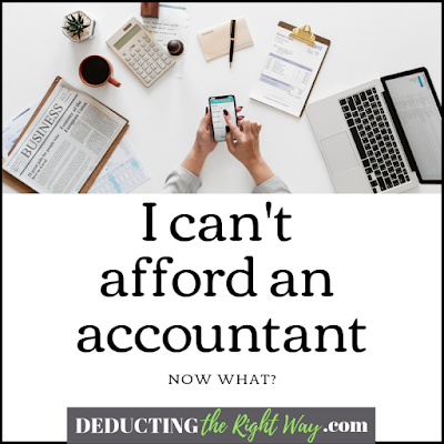 DIY Accounting & Taxes | www.deductingtherightway.com