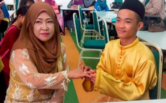 Heboh !!! Cowok 18 Tahun Nikahi Janda Lima Anak.. Pas Malam Pertama Malah Jadi Gini