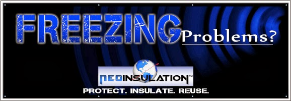 Vinyl Banner printed for Neo Insulation   Banners.com