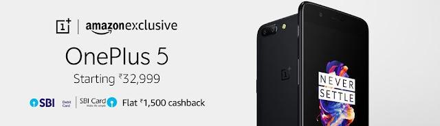 OnePlus 5 Amazon