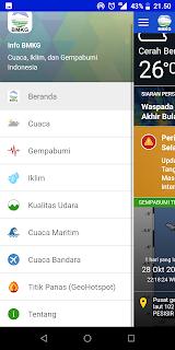 Cara Mengetahui Info Bencana Alam Secara Cepat Menggunakan Android