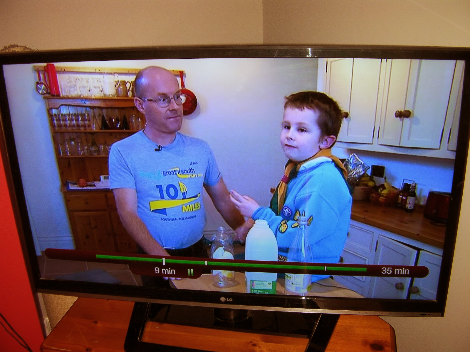 beaver scout does tv interview