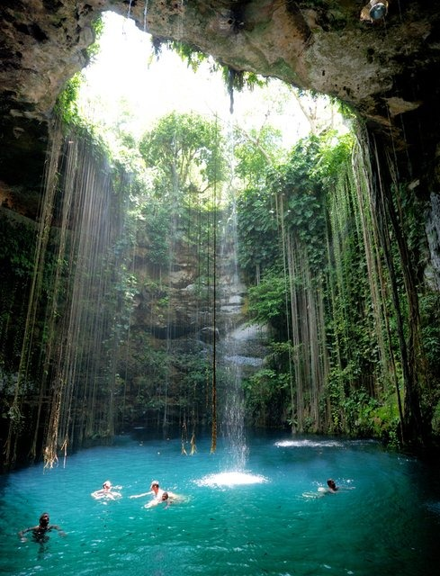 Ik Kil cenote, Yucatán, Mexico [10 Pic] ~ Awesome Pictures