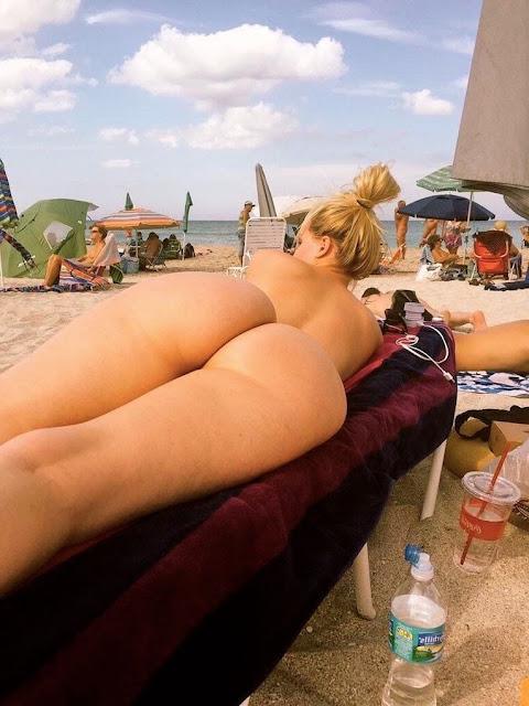 fkk strand arschloch