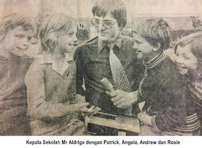 Anak-anak yang terlibat dan Kepala Sekolah mereka