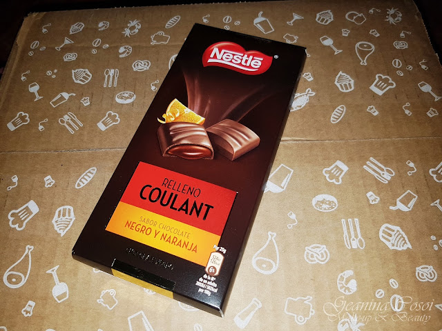 Nestlé Coulant  chocolate negro con naranja Caja Degustabox - Octubre ´17