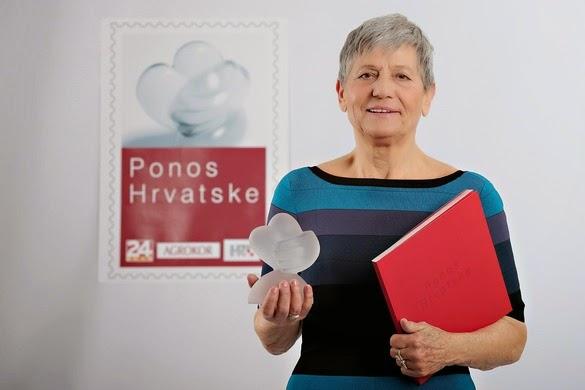 Vanja Androillo s nagradom Ponos Hrvatske