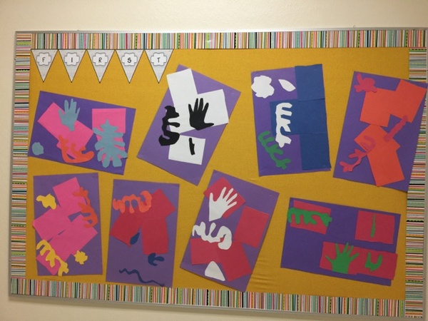 matisse inspired projects