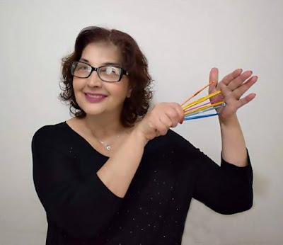 Edinir Croche ensina curso de croche para destros e canhotos