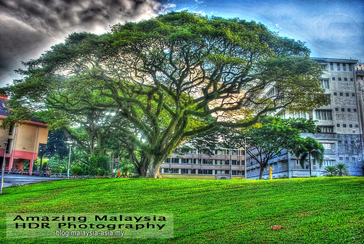 University Sains Malaysia in Penang HDR Photography