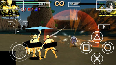 Download MOD Naruto Bijuu Mode PSP PPSSPP