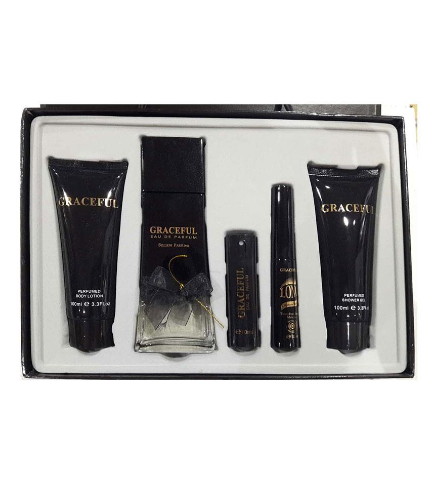 Graceful Gift Set Women Sellion Parfums 817D