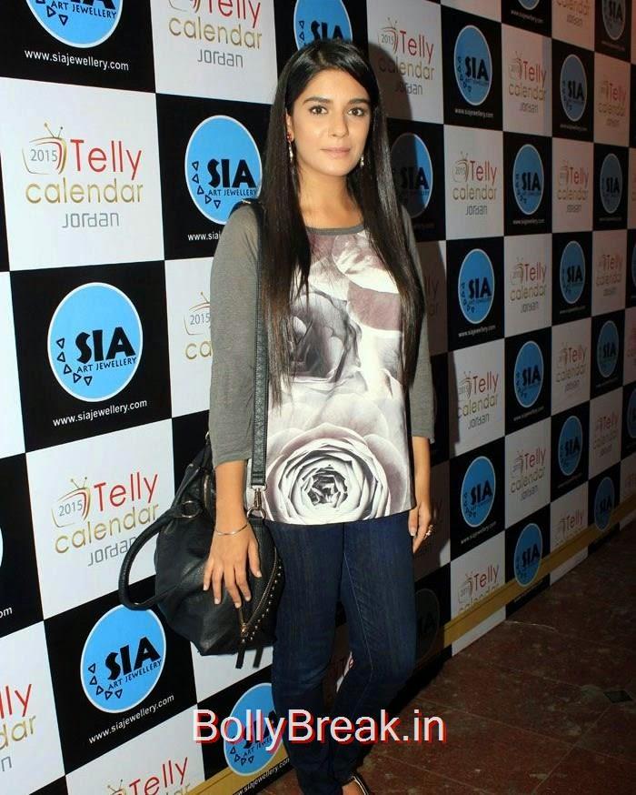 TV Stars at 'Telly' Calendar Bash, Mona Singh, Krystal D'Souza, Anita Hasandani, Shweta Salve, 'Telly' Calendar Bash