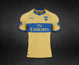 Camiseta Boca Juniors 2018 - Boca Juniors Kit 2018 - AWAY