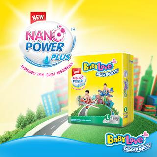 BABY LOVE PLAYPANTS NANO POWER PLUS