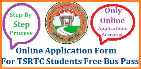 TSRTC Student Bus Pass Online Application Form Apply Process @online.tsrtcpass.in | Process for How to Apply Online for FREE Bus Pass for Student from Telangana State Road Transport Corporation TSRTC | Apply Online for TSRTC Students Free Bus Pass for Monthly/Quarterly Online Mode Only | Click here for Step By Step Process How to Apply for Students Bus Pass Official website to Apply Online For Students Free Bus Pass from TSRTC tsrtc-student-free-bus-pass-online-aaplication-form