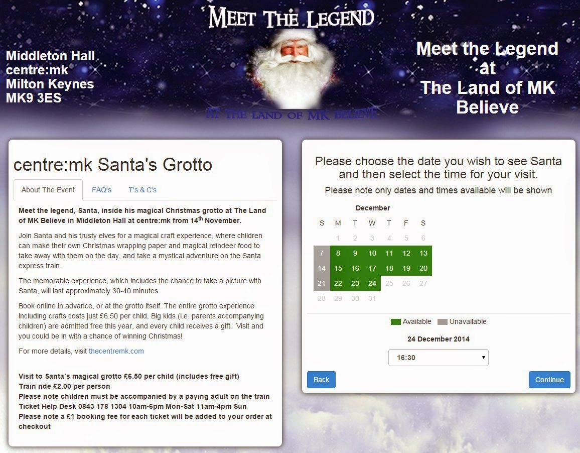 Meet the Legend at The Land of MK Believe booking page