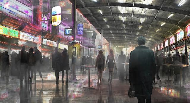 """Revelada novas artes conceituais da sequência de """"Blade Runner"""""""